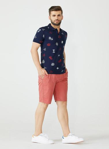 Sementa Polo Yaka Marine Erkek Tshirt - Lacivert Lacivert